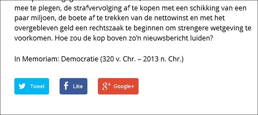 screenshot groene.nl